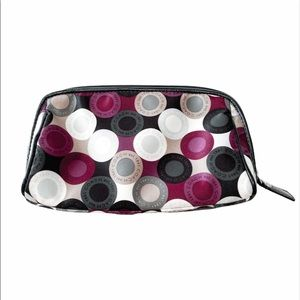 Coach Polka Dot Purple Cosmetic Case
